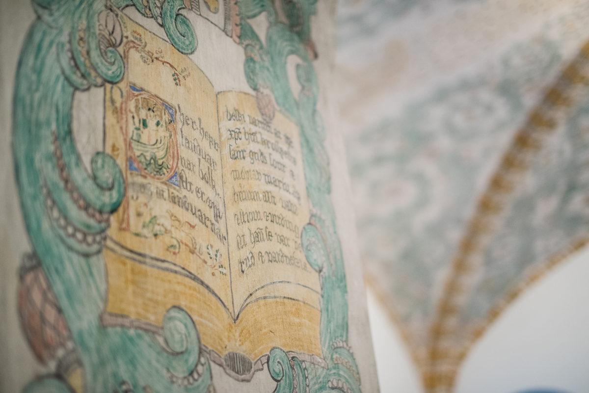 Freske på Nasjonalbiblioteket