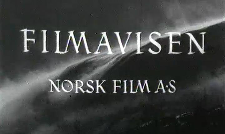 Skjermdump Filmavisen