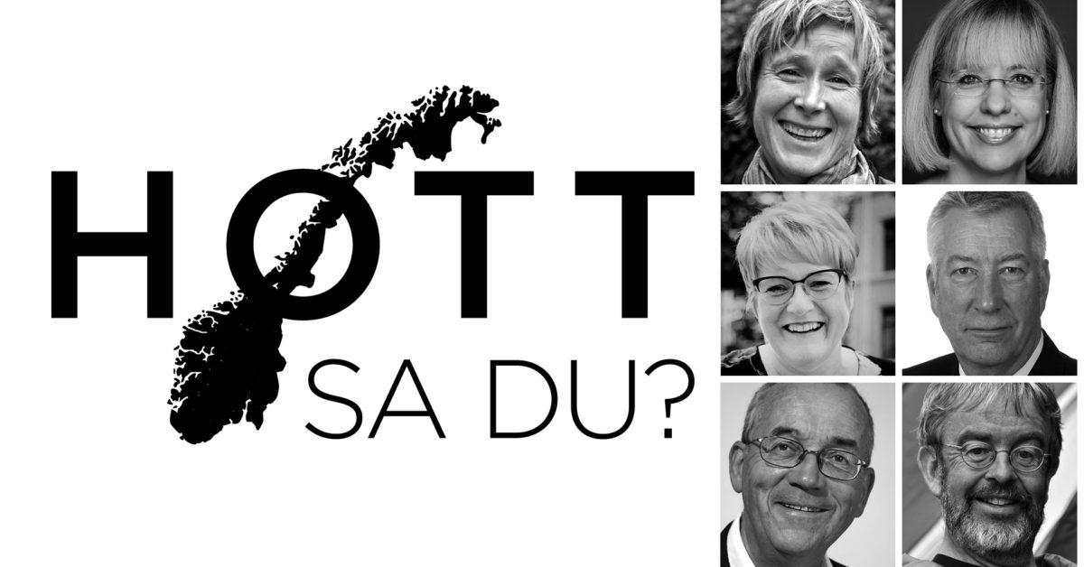 Høtt sa du?Dialektkonkurranse med Linda Eide, Åse Wetås, Arne Torp, Tor Erik Jenstad, Trine Skei Grande og Sigbjørn Johnsen