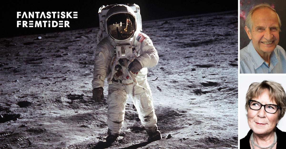 Direkte frå månen.Erik Tandberg og Anne Grosvold