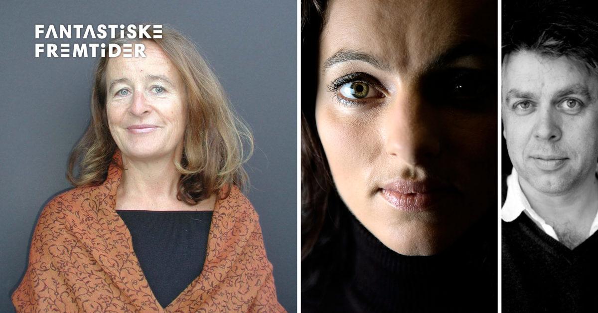 Tonar frå framtida.Maja Ratkje, Synne Skouen og Erling Sandmo