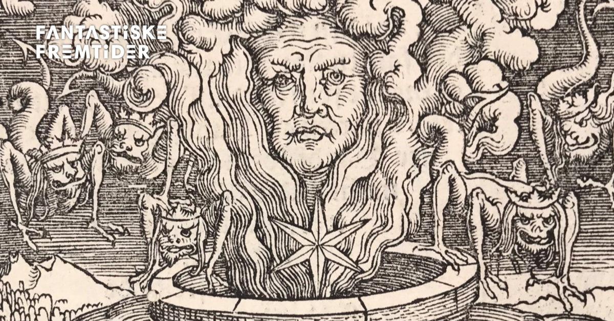 Apokalypsen. Materialframvisning: En billedfortelling i Kristian 3.s bibel fra 1550