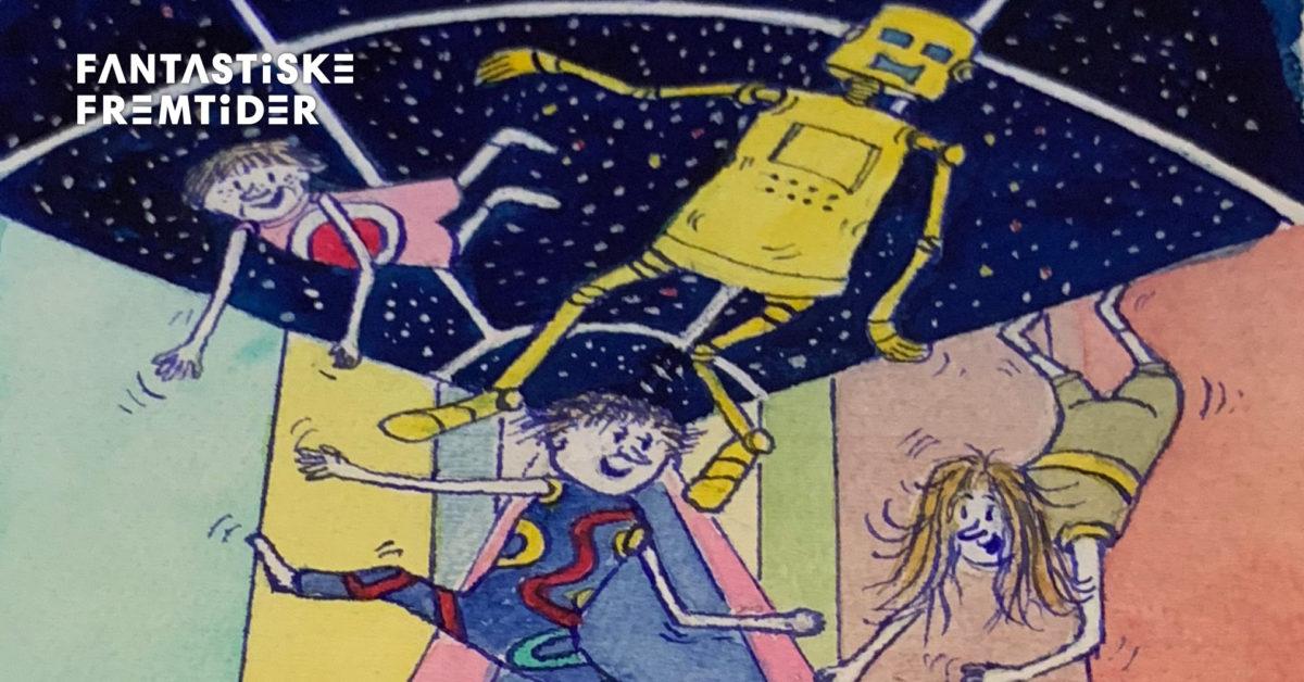 Roboter, spøkelser og barndom.Philip Newth og hans fantastiske univers