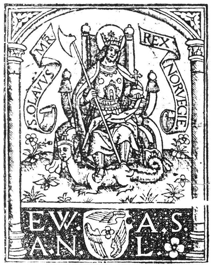 Illustrasjon fra Breviarium Nidrosiense fra 1519