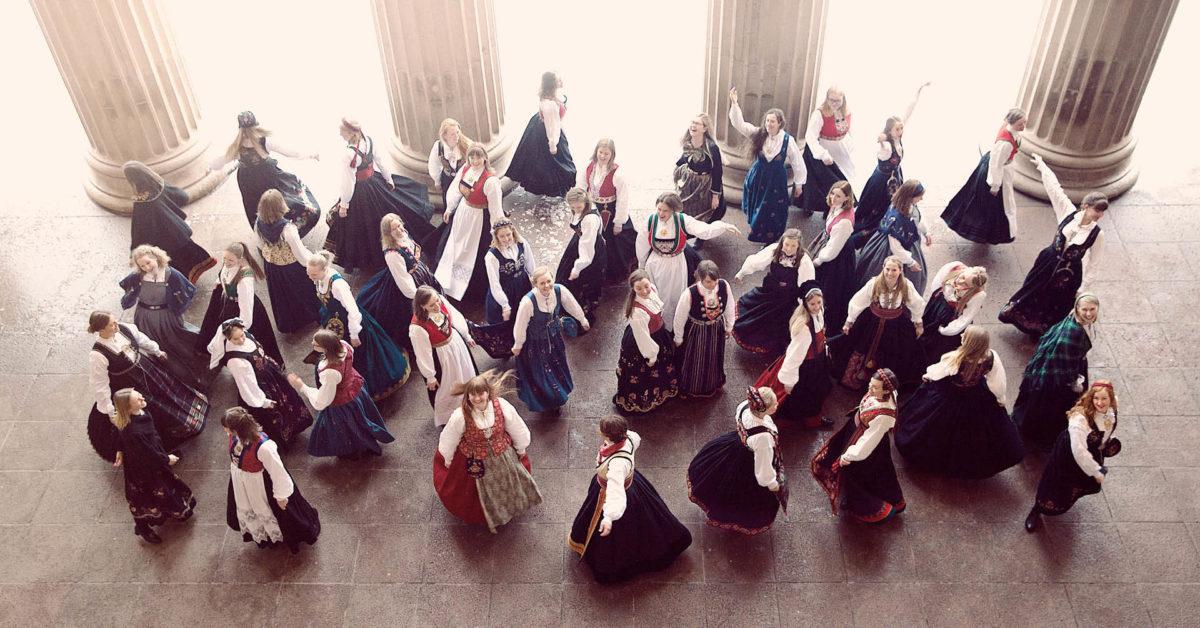 Sommerkonsert.Kvindelige Studenters Sangforening