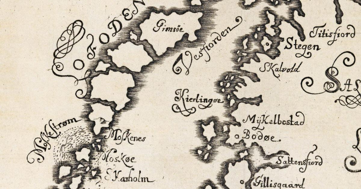 Noregshistoria gjennom kart