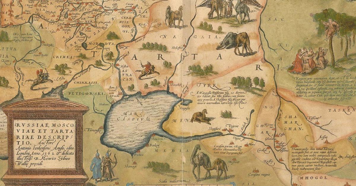 Veien mellom geografi og historie. Foredrag ved Peter Frankopan