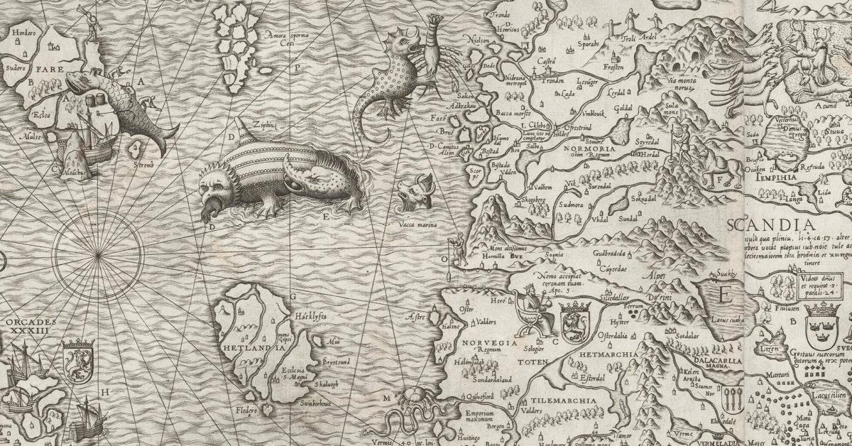 Olaus Magnus og renessansens Norden. Foredrag ved Erling Sandmo