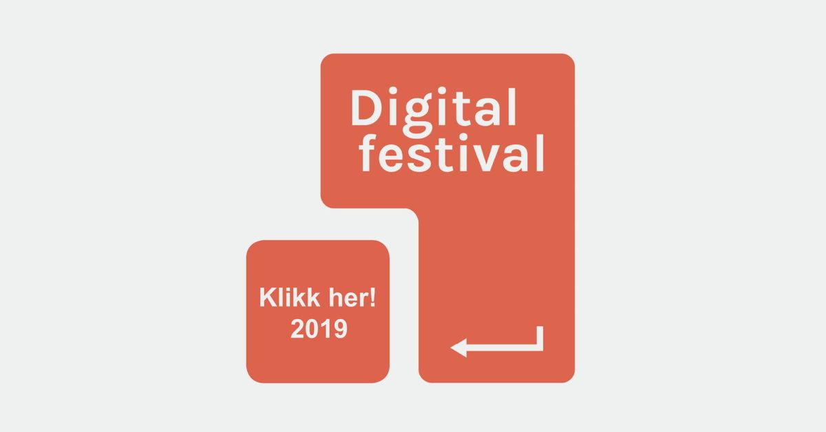 Åpning av Digital festival 2019