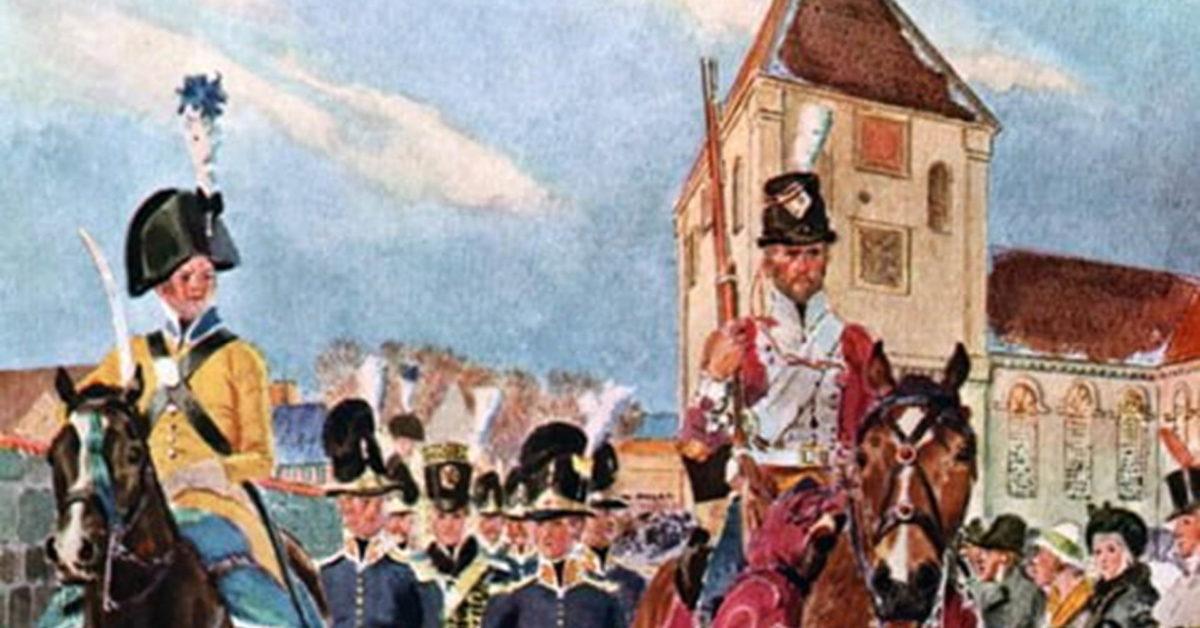 Napoleons norske forrædere. Foredrag ved Oskar Aanmoen