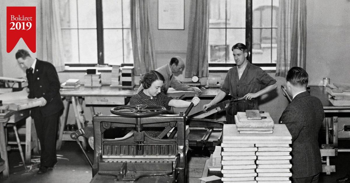 Bokbinderverksted. Bokas hemmeligheter brettes ut og bindes inn (FULLT)