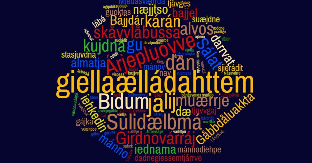 Urfolksspråkåret 2019. Om samiske språk og samisk kultur