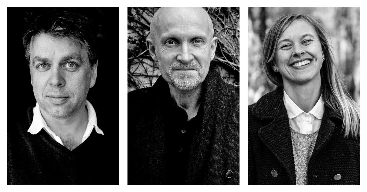 Kartets spor. Lars Saabye Christensen, Janne Stigen Drangsholt og Erling Sandmo