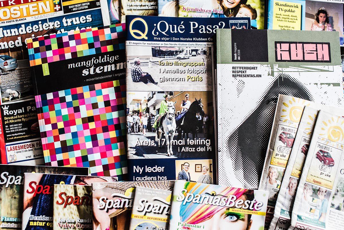 Bilde av magasiner