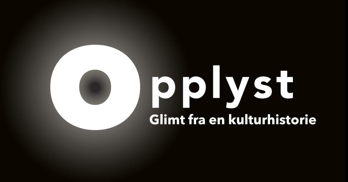 Bilde av logoen til Opplyst-utstillinga