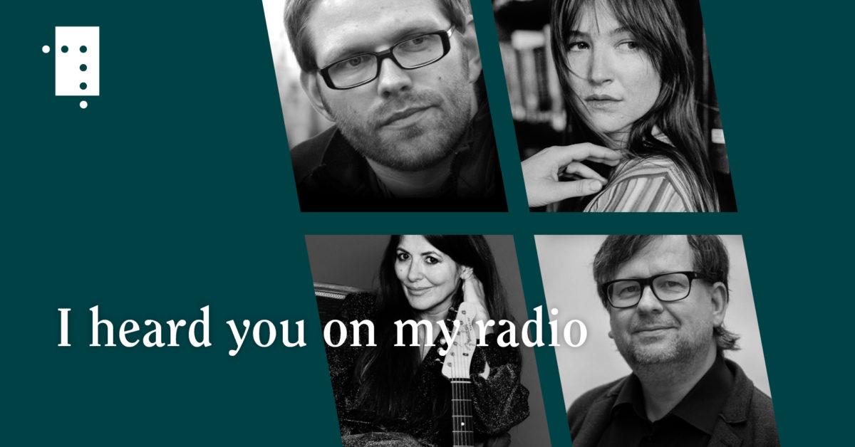 I heard you on my radio