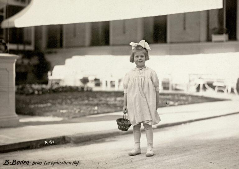 Ebba Haslund, 1921 (postkort)
