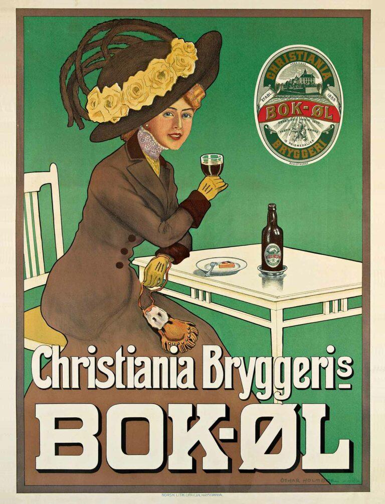 Christiania Bryggeris ølreklame