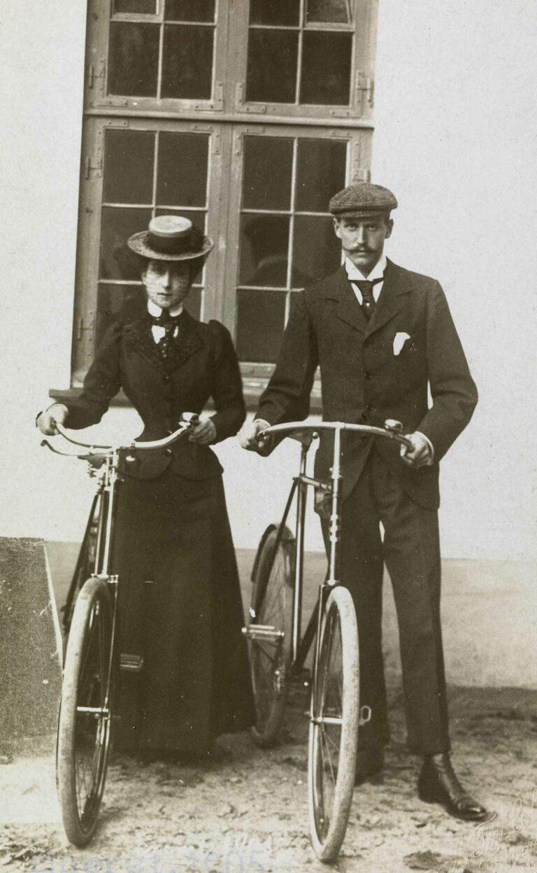 Prins Carl og prinsesse Maud, ca. 1900–1905