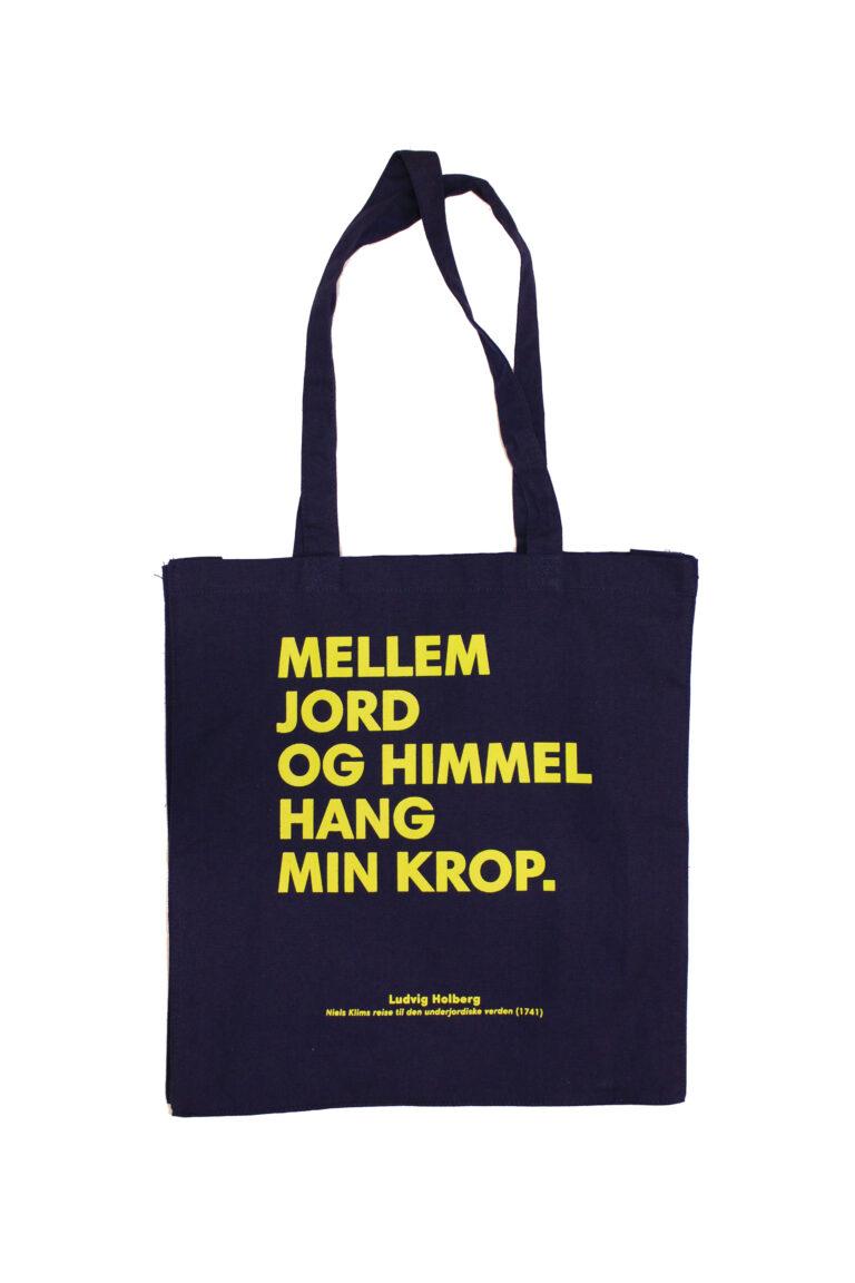 Sitat-siden av bærenett med Ludvig Holberg-sitat