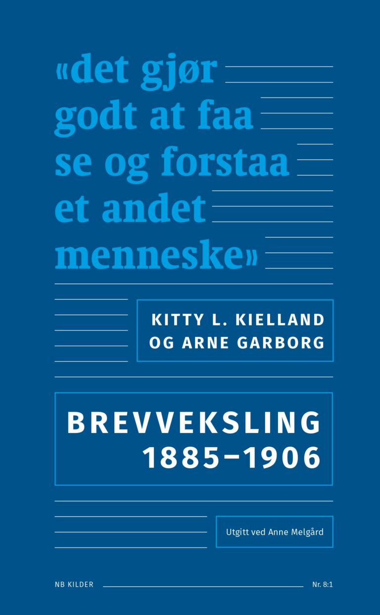 Kitty L. Kielland og Arne Garborg.