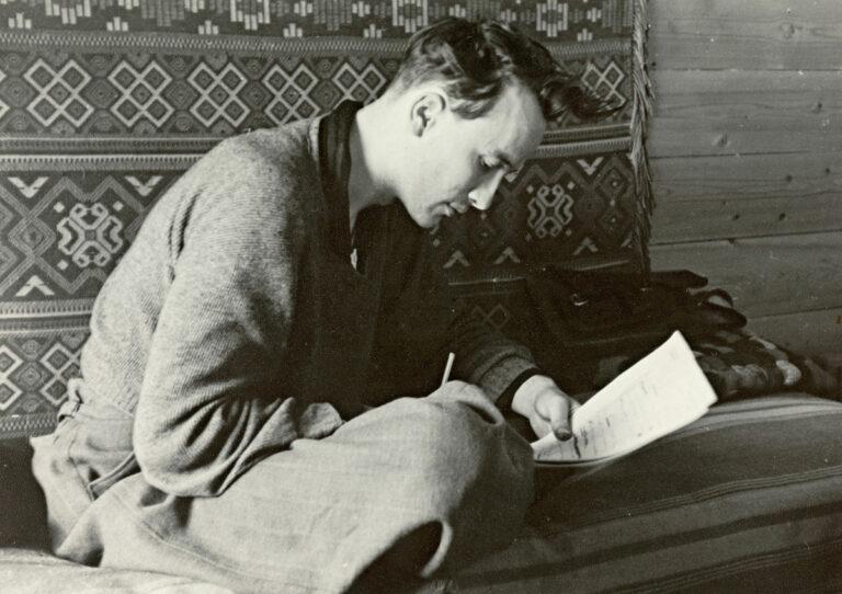 André Bjerke, ca. 1954