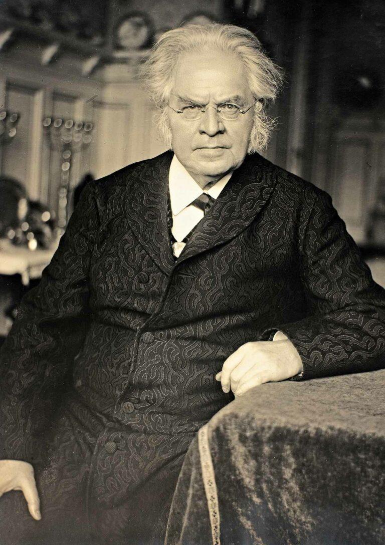 Bjørnstjerne Bjørnson, 1908 (postkort)
