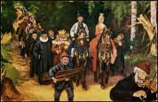 «Askeladdens eventyr» (Soria Moria), malt 1900