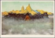 «Soria Moria slott», malt 1900