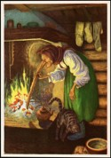 «Kjerringa ved peisen»