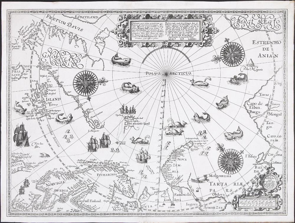 nordområdene kart Nasjonens hukommelse   Nasjonalbiblioteket nordområdene kart
